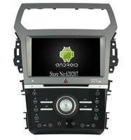 S160 الروبوت 4.4.4 سيارة gps dvd لاعب ل سيارات النسخة فورد إكسبلورر 2012 سيارة الهواء الملتيميديا صوت ستيريو gps رباعية النوى