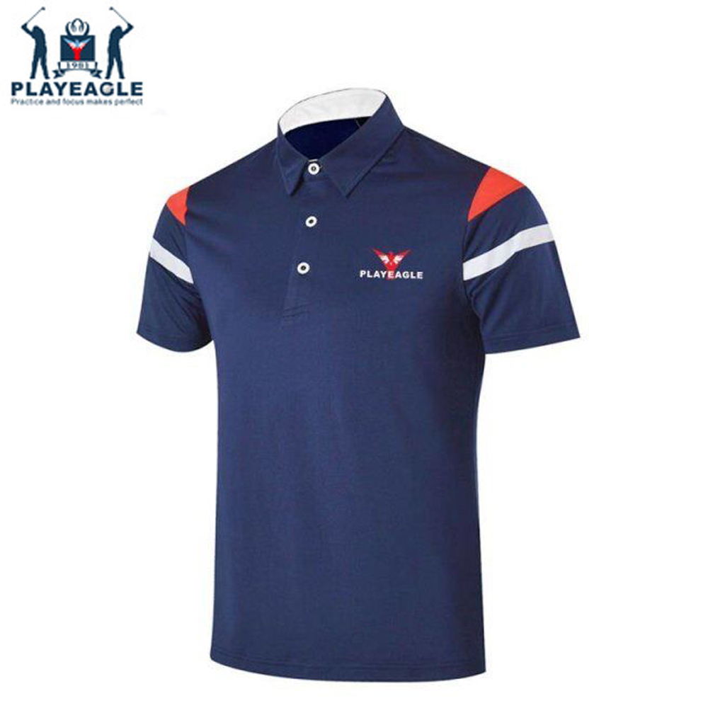 317dabc9ba US $29.99 |Golf Shirts Mens Jerseys Short Sleeves Polo Sportswear Shirt  Quick Dry Dot Strips T Shirts Men's Golf Clothing Golf Apparel-in Golf  Shirts ...