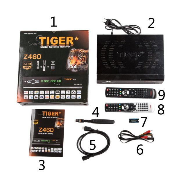 flash tiger z460