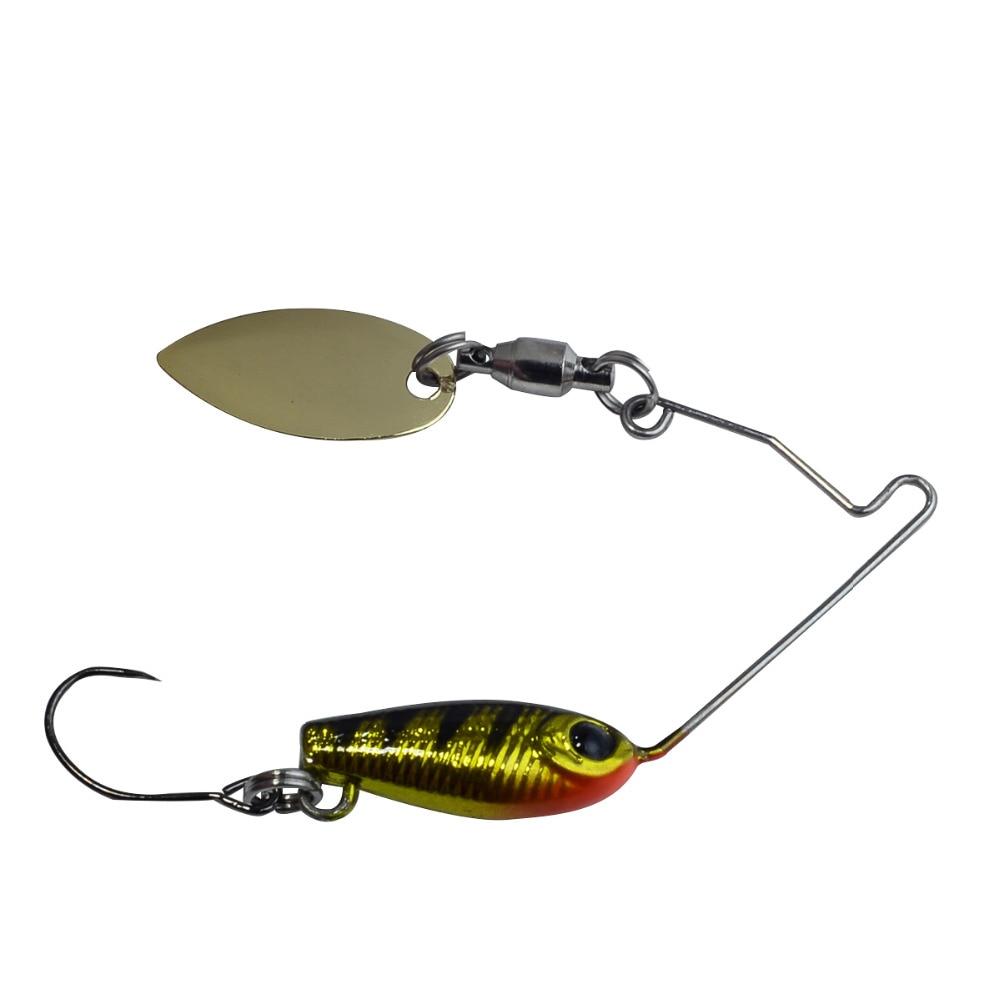 Japan Spinner Bait Mini Spinnerbait Bass Pike Trout Lure  60mm/5g Щипцы