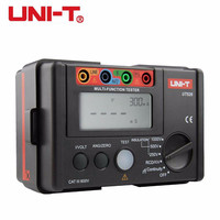 UNI T UT526 Multi Functional Electrical Insulation Tester Earth Resistance Meter + 1000V+RCD Tester+Continuity+Vac/dc (4 in 1)