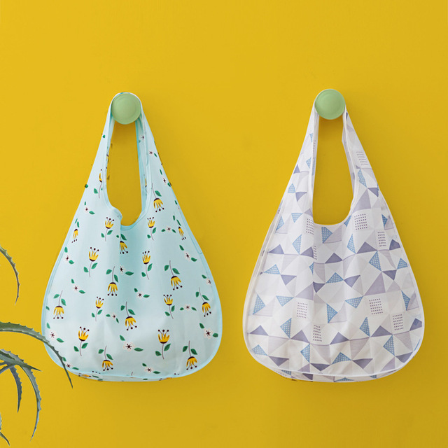 7f16a2b5b9bc mylb Folding Beach Travel Picnic Tote Reusable Bag Shoulder Bags Women  Handbag Waterproof Cloth Bag Supermarket Shopping bag