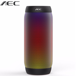 Aec colorful waterproof led portable bluetooth speaker bq 615 wireless super bass mini speaker with flashing.jpg 250x250