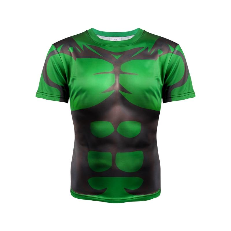 Buy marvel super heroes avenger batman for Hulk under armour compression shirt