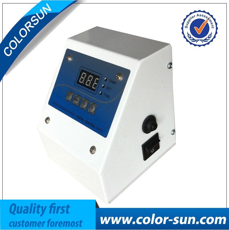 110v/220V 9 in 1 heat press machine digital control box Temperture and Time Digital Control Box for heat press machine 1 pcs 38 38cm small heat press machine hp230a