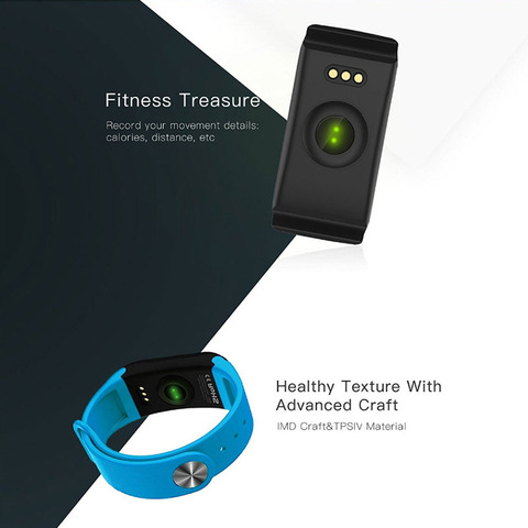 F1 Smart Bracelet Wristband 0.66 inch Screen smart Watch Blood Pressure Monitor Bracelet Fitness Band Heart Rate Monitor Karachi