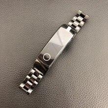 سوار معدني لساعة Huawei Honor Band 4 5 ، سوار من الفولاذ المقاوم للصدأ ، إكسسوارات ذكية