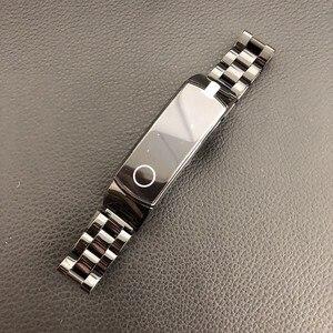 Image 1 - In metallo per Huawei Honor Fascia 4 5 Cinghia Della Fascia Dellacciaio inossidabile Del Braccialetto Accessori per Articoli Elettronica Smart Wristband
