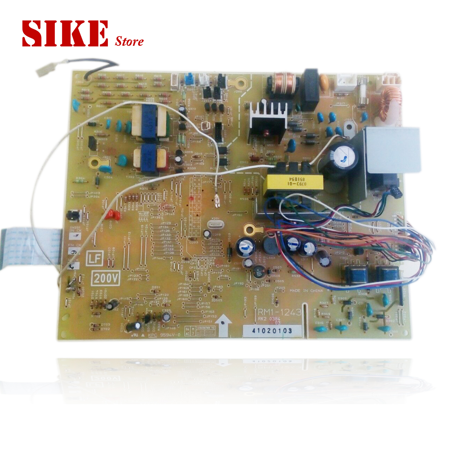 RM1-1242 RM1-1243 Engine Control Power Board For HP 1320 1320n 1320nw 1320tn 1160 <font><b>HP1320</b></font> HP1160 Voltage Power Supply Board image