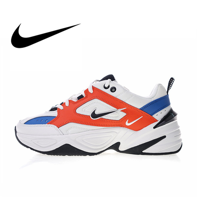 finest selection 3f5a9 210b7 Original Authentic Nike W M2K Tekno Men s Running Shoes Sport Outdoor  Designer Sneakers Athletic 2018 New Arrival AO3108-101