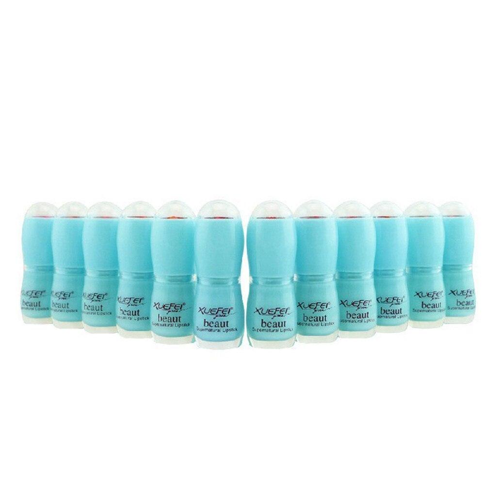 New Fashion Matt lipstick Batom Sexy Moisturizer Long Lasting Waterproof Lipstick Makeup Glossy Lipgloss For Dropshipping