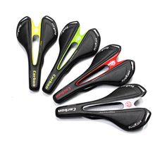 Famous brand full carbon fiber road mountain bike saddle / carbon fiber saddle / seat bag Handle / fork / Leader / cup frame 95G