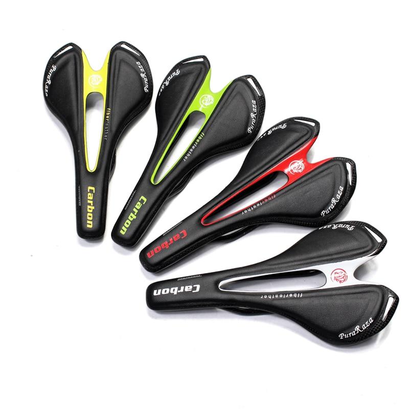 Ünlü marka tam karbon fiber yol dağ bisikleti eyer / karbon fiber eyer / koltuk çanta Kolu / çatal / Lider / fincan çerçevesi 95G