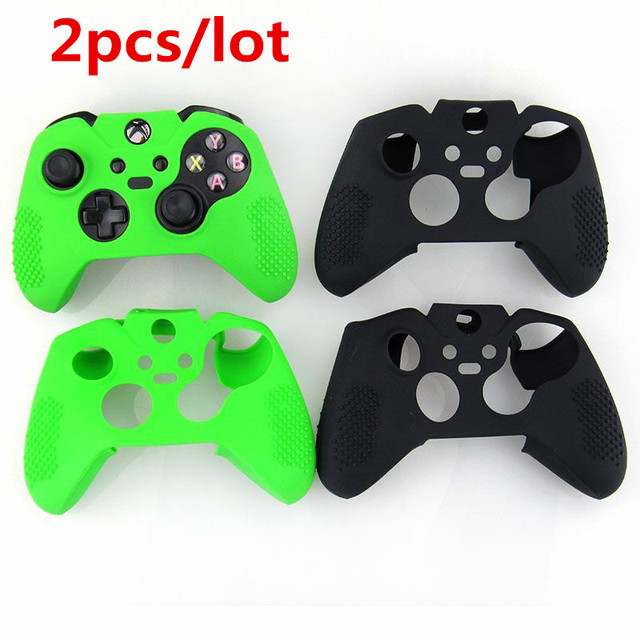 best website 550f0 701dd US $7.63 9% OFF|2pcs/lot Durable Silicone Soft Guards Skin Protective Case  Cover For Xbox One Controller Xbox one Elite Controller Sweat Free-in Cases  ...