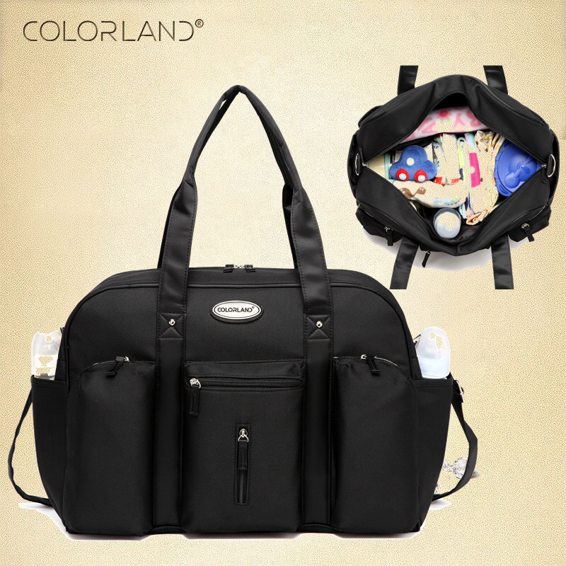 Colorland Baby Diaper Bag Organizer Large Mom Messenger Nappy Bags Fashion Mummy Maternity Bag Brand Mother Maternity Handbag colorland baby nappy diaper mummy maternity travel bag organizer backpack baby stroller bag mom handbag mother messenger bags