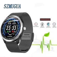 SZMUGUA 2019 New Smart Watch With ECG PPG Smart Bracelet Hea