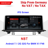 10.25 Android IPS Screen ID6 Interface multimedia player For BMW X1 F48 GPS Navigation Wifi CarPlay EW966B