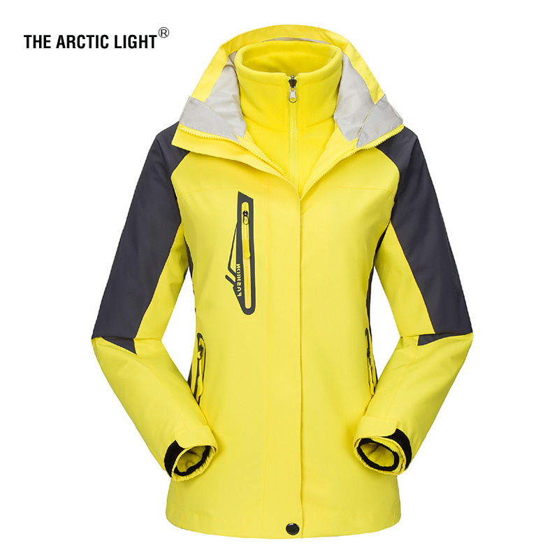 THE ARCTIC LIGHT New Women ski Jackets Outdoor Hiking Trekking Warm Snowboard Coat Waterproof Snow Jacket Sportswear Winter men and women winter ski snowboarding climbing hiking trekking windproof waterproof warm hooded jacket coat outwear s m l xl