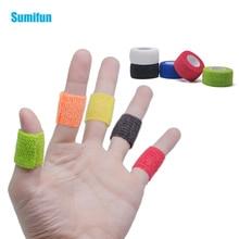 8pcs Tattoo Bandage Self Adhesive Non Woven Cohesive Bandage 2.5*450cm Sports Protective Stretch Bandage D1064