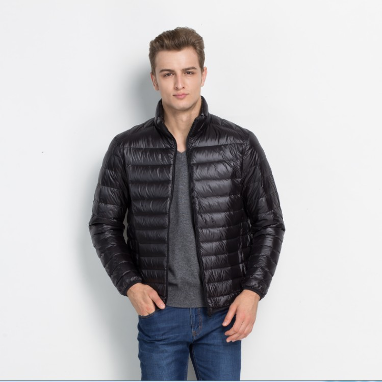 2017 New Winter Down Jacket Men 90% White Duck Down Coat Ultralight Down Jacket Male Windproof Warm Parka Plus Size S-5XL