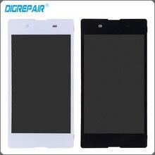 Белый черный ЖК-дисплей дисплей с сенсорным экраном с планшета Полное собрание запчастей для Sony Xperia E3 D2243 D2202 D2203 D2206