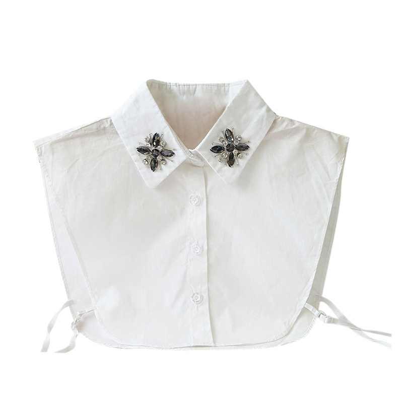 Женское профессиональное хлопковое колье-воротник, короткое ожерелье с воротником