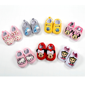2019 New Baby Infant Shoes 0-18M Boys Girls Casual Shoes Soft Cartoon High Quality Spring Autumn Fashion Baby First Walkers 1