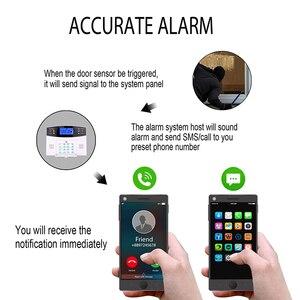 Image 3 - Wireless smart Home Security GSM Alarm System Intercom haus Fernbedienung Autodial Sirene Sensor Kit