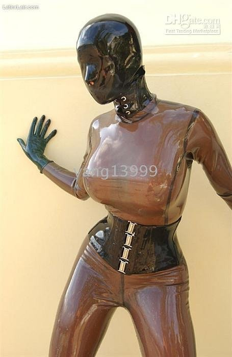 Latex Clothing Rubber Corsets Full Coating
