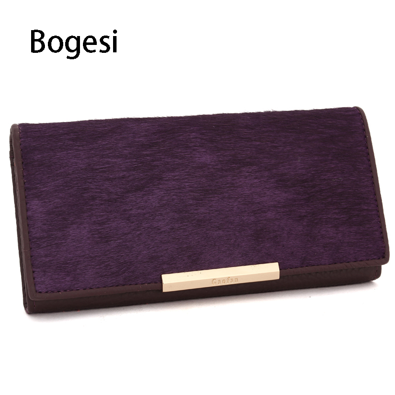 Bogesi New 2018 100% Genuine Leather Womens Wallet Wholesale Long Wallets Card Holder Fa ...
