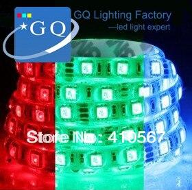 12v 5050 rgb led strip RGB 5050 flexible rope ribbon tape bundle string light decorative lamp 5m 300led 60/m