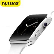 Купить с кэшбэком Bluetooth Smart Watch Sport Passometer Smartwatch X6 with Camera Support SIM Card Whatsapp Facebook for Android Phone
