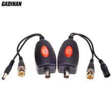 GADINAN AHD CVI TVI güvenlik kamerası Güç Video Üzerinden Iletim Bir BNC Video Kablo kadar 400 M HD PVT Güç Video Verici