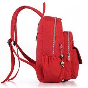Image 2 - TEGAOTE Kleine Rucksack für Teenager Mädchen Design Schwarz Rucksäcke Frauen Luxus Bolsa Casual Nylon Wasserdichte Bagpack Mochila 2020