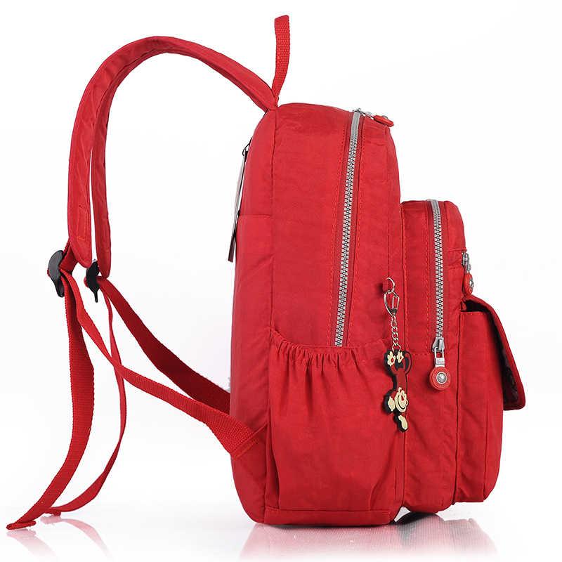 TEGAOTE Mulheres Pequena Mochila para Adolescentes Menina Mochilas Bagpack Saco Mini Bolsa de Nylon Casuais Mochila Feminina À Prova D' Água 2019