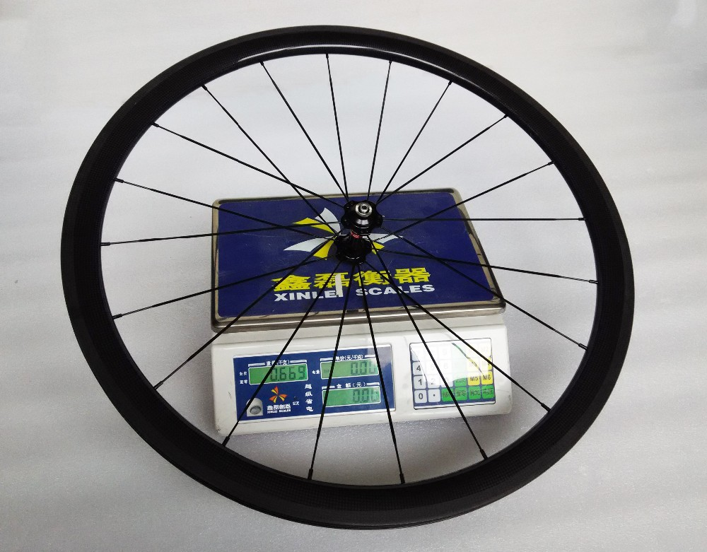 carbon wheels clincher 38mm 700C road bike clincher 38mm 3k glossy  black wheelset (14)