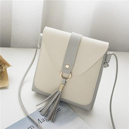 Women Small Tassel Shoulder Bag