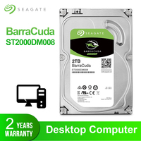 Seagate 2TB 3.5'' Desktop HDD Internal Hard Disk Drive Original 2 TB 7200RPM SATA 6Gb/s Hard Drive For Computer ST2000DM008