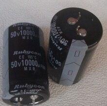 50 В 10000 мкФ 10000 мкФ 50 В электролитический Конденсаторы Размеры: 30*40 30*50