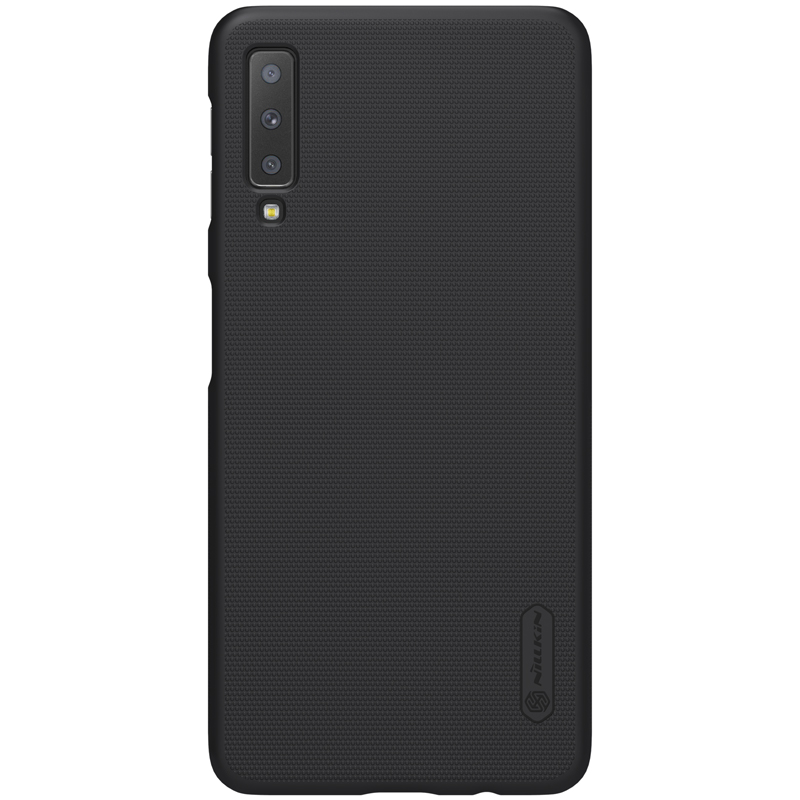 buy online 518c1 7f4b5 US $7.99 5% OFF|Case For Samsung Galaxy A7 2018 Original NILLKIN Super  Frosted Shield Back Cover Case For Samsung Galaxy A7 2018 A750 Phone  Case-in ...