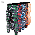 MMA Boxing Compression Pants Quick Dry Skinny Running Tights Men Fitness Sport GYM Exercise Trousers Muay Thai Elastic Leggings