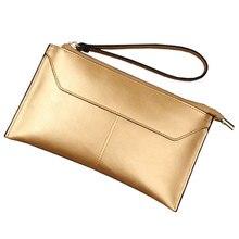 100% Or Véritable En Cuir Standard Portefeuille Femmes De Luxe Célèbre Marque Argent Femelle Bourse Zipper Titulaire de la Carte de Crédit De Mode Sacs