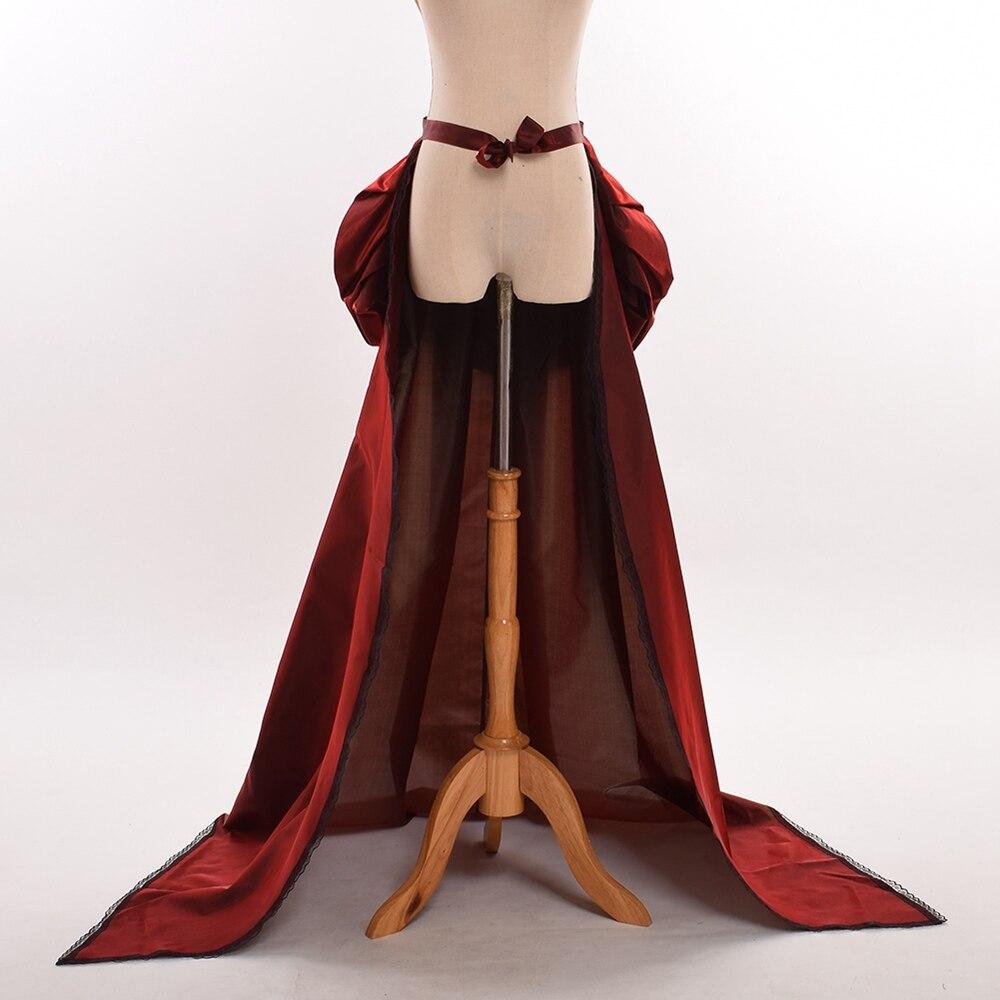 STEAMPUNK DIVA Copper Taffeta Bustle Skirt  BURLESQUE