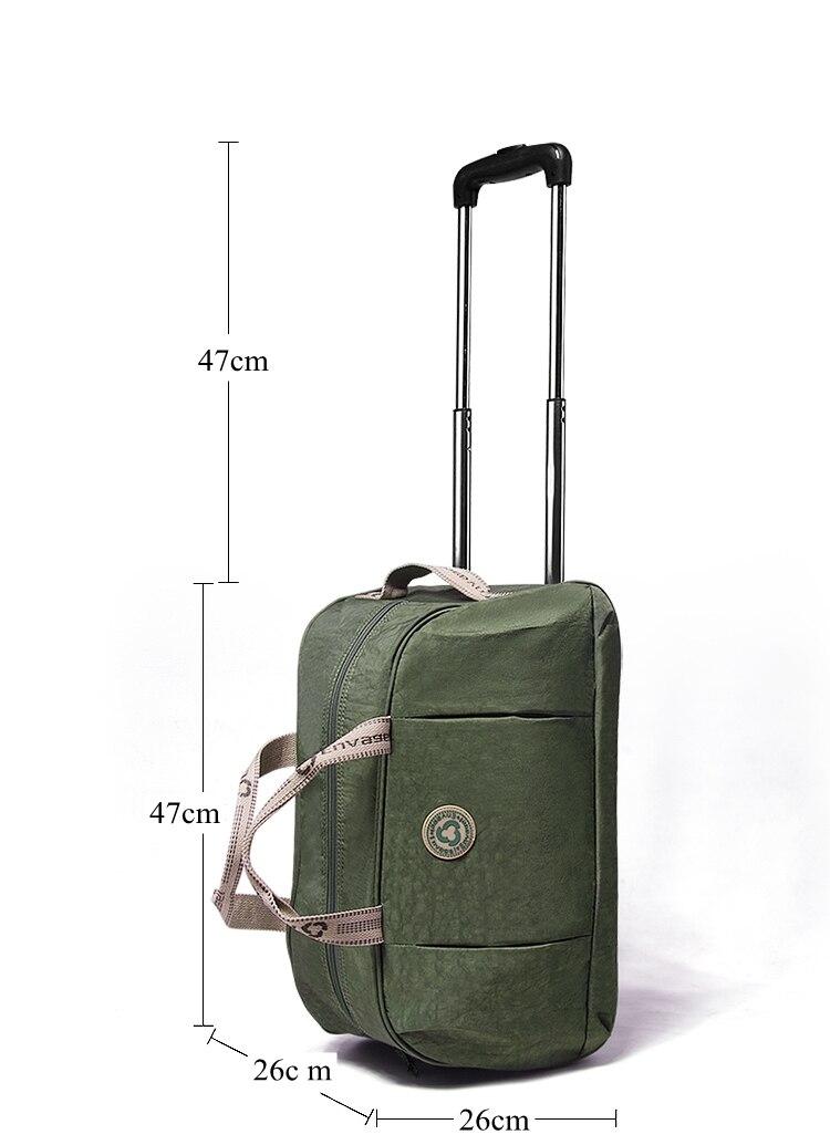 Saco trolley de viagem tamanho de cabine