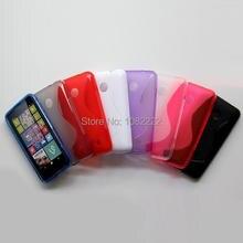100 шт./лот S линии ТПУ чехол мягкий чехол для Nokia Lumia 530