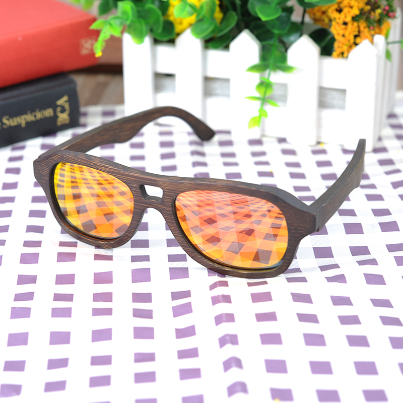 Yellow Red Polarized Sunglasses for women and men BOBO BIRD (1)