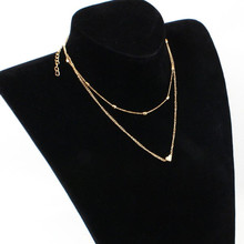 Best Small Heart Necklace Gold Color