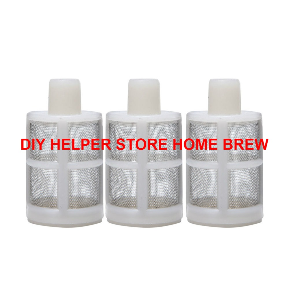 2018 Hot Sale 5 pcs / lot 8mm Filter Silikon Untuk Wort Mashing - Dapur, ruang makan, dan bar - Foto 2