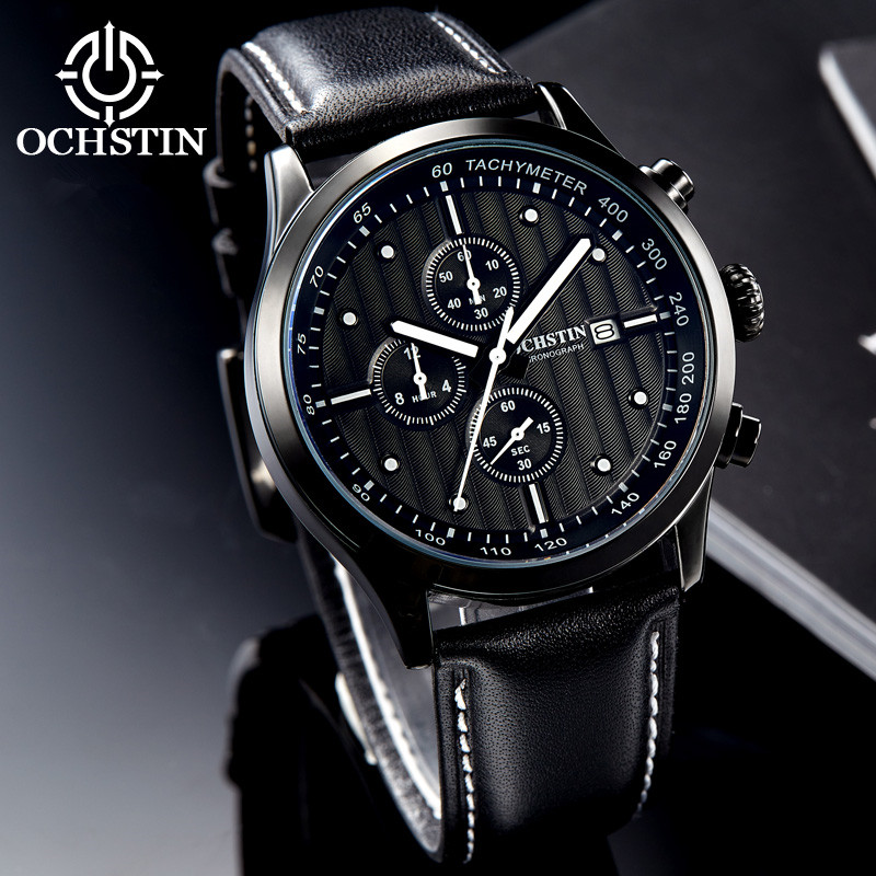 OCHSTIN Fashion Chronograph Sport Mens Watches Top Brand Luxury Quartz Watch 2017 Clock Man Military Watch relogio Masculino 2017 new top fashion time limited relogio masculino mans watches sale sport watch blacl waterproof case quartz man wristwatches
