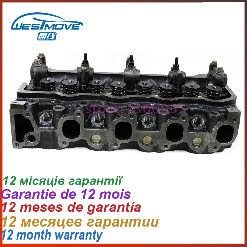 US $351 75 25% OFF|ENGINE : 2L 2LT complete cylinder head assembly for  Toyota Hilux 2400 2 4L 2 4D 11101 54030 11101 5404011101 54050 11101  54024-in